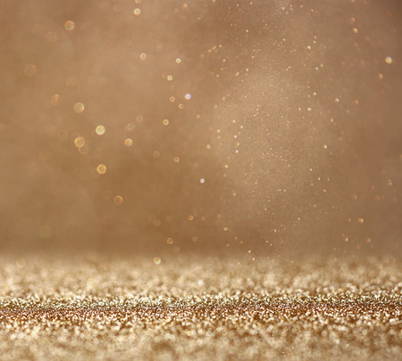 Photo pour glitter vintage lights background. abstract gold background . defocused - image libre de droit