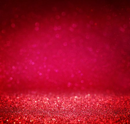 Foto per glitter vintage lights background. red and purple. defocused - Immagine Royalty Free