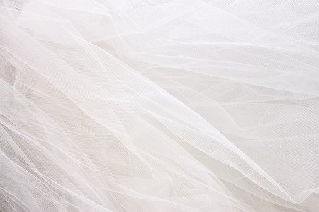 Photo pour Vintage tulle chiffon texture background. wedding concept - image libre de droit