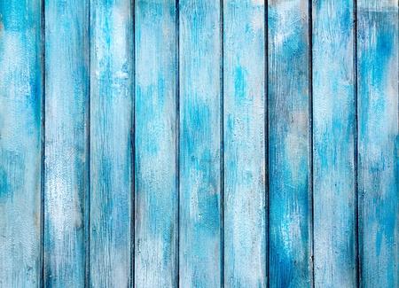 Photo pour aged blue painted grunge wood texture background - image libre de droit