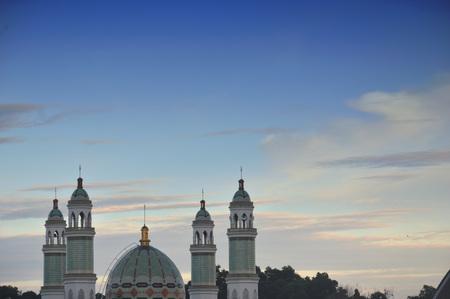 Foto de dome of the mosque - Imagen libre de derechos