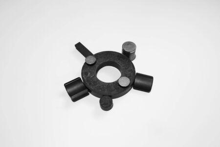 Foto de A group of different magnet shapes - Imagen libre de derechos