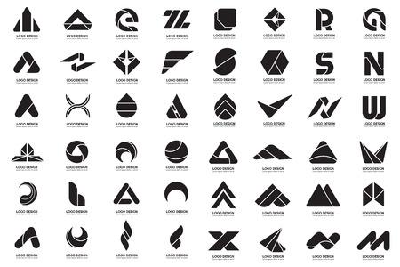 Illustration pour Modern minimal vector logo for banner, poster, flyer - image libre de droit