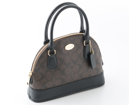 Bangkok, Thailand - JUNE 21, 2015: Coach bag.is an American luxury leather goods bag.