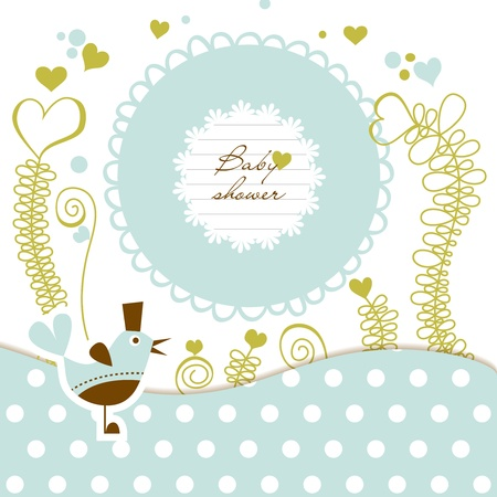 Photo for Cute baby shower - Royalty Free Image