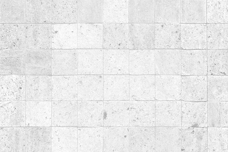 Photo for The modern white concrete tile wall background - Royalty Free Image