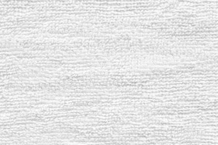 Foto de Close - up Clean white towel texture and seamless background - Imagen libre de derechos