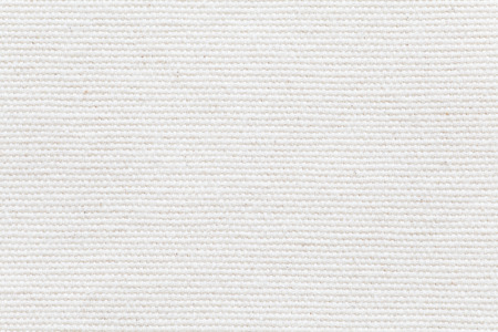 Photo pour Detail of White fabric texture and seamless background - image libre de droit