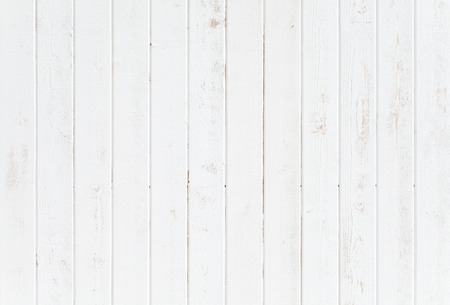 Foto de White natural wood wall texture and background seamless - Imagen libre de derechos