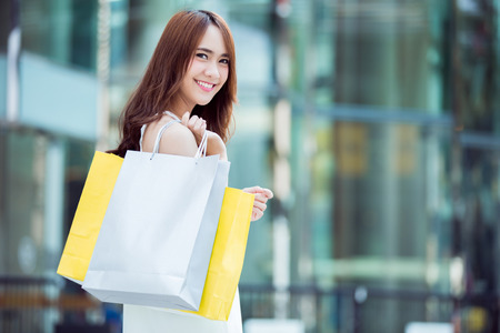 Photo for Asian women are shopping Mall - Royalty Free Image