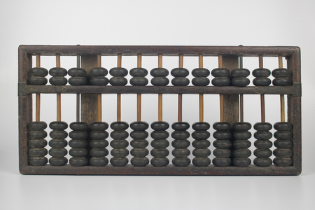 Photo for old abacus for calculate - Royalty Free Image