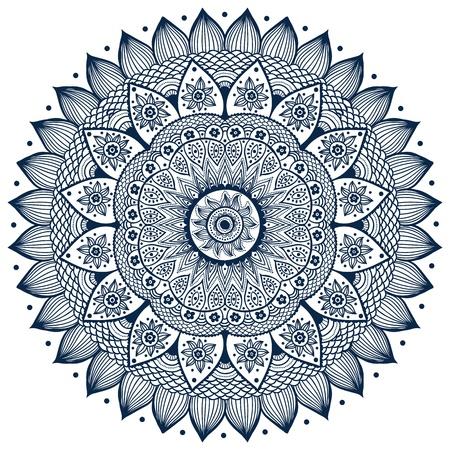 Illustration pour Beautiful ornament - image libre de droit
