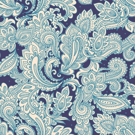 Illustration for Beautiful floral seamless - Royalty Free Image