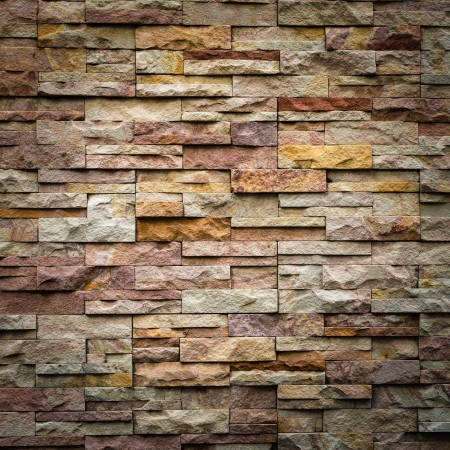 Photo for pattern of decorative slate stone wall surface - Royalty Free Image