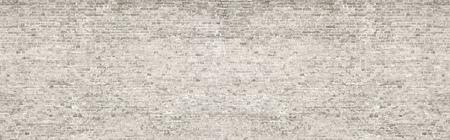 Photo pour White wash old brick wall panorama. - image libre de droit