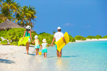 Photo pour Family vacation - image libre de droit