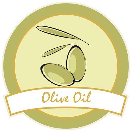 label / olive oil
