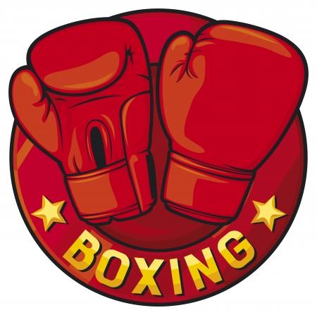 boxing label  boxing symbol, boxing design