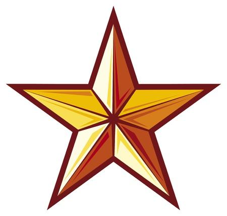 Illustration for star - Royalty Free Image