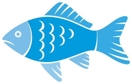 Illustration for fish - Royalty Free Image