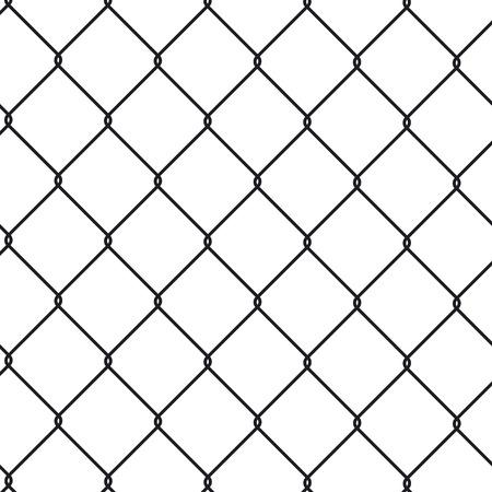 Illustration pour Wire fence - image libre de droit