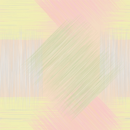 Seamless geometric checkered grunge striped pattern in pastel colors