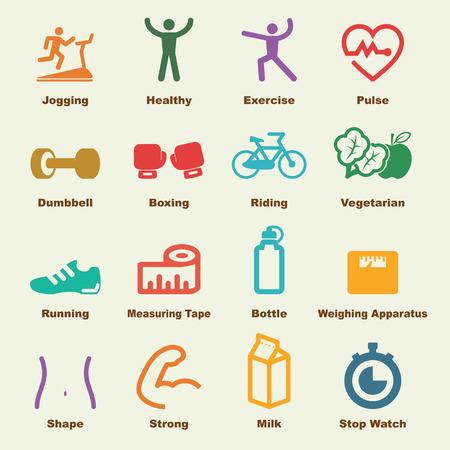 Photo pour fitness elements - image libre de droit