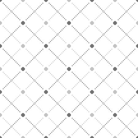 Illustration pour Geometric dotted vector light pattern. Seamless abstract modern texture for wallpapers and backgrounds - image libre de droit