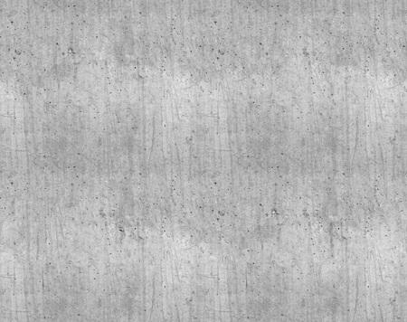 Foto de Seamless grey smooth new concrete wall texture. - Imagen libre de derechos