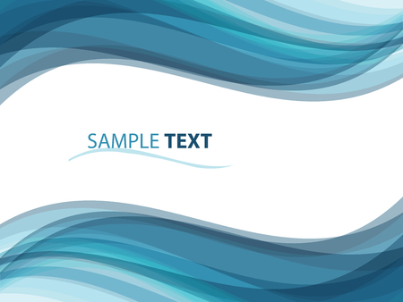 abstract background like ocean waves, illustration