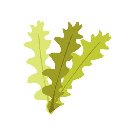 Ilustración de Seaweed icon vector isolated on white background for your web and mobile app design - Imagen libre de derechos