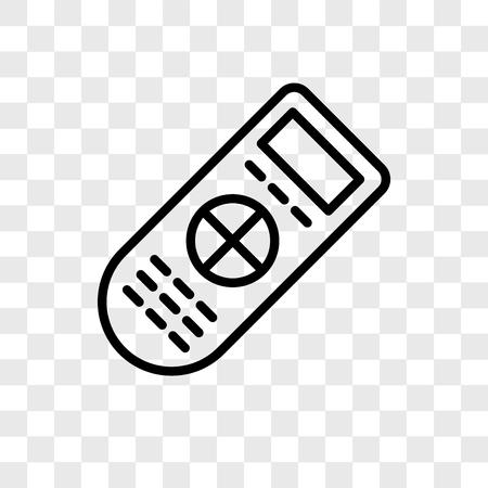Illustration pour Remote vector icon isolated on transparent background, Remote logo concept - image libre de droit