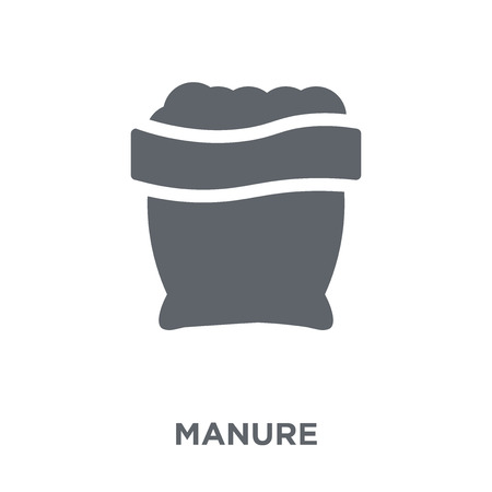 Illustration pour Manure icon. Manure design concept from Agriculture, Farming and Gardening collection. Simple element vector illustration on white background. - image libre de droit