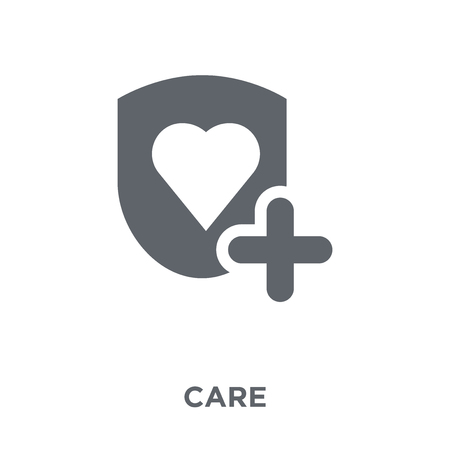 Illustration for Care icon. Care design concept from  collection. Simple element vector illustration on white background. - Royalty Free Image