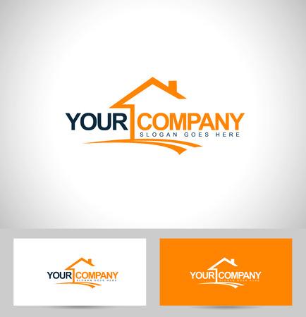Illustration pour Real Estate Design. House Design. Creative Real Estate Vector Icons - image libre de droit