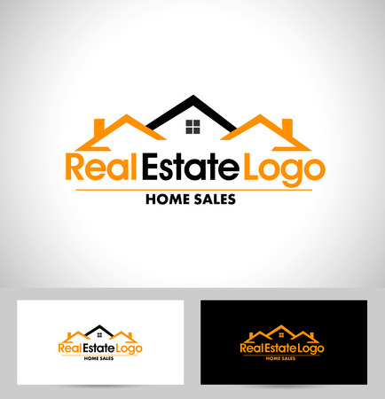 Illustration for Real Estate Design. House Design. Creative Real Estate Vector Icons - Royalty Free Image