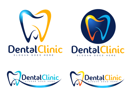 Illustration pour Dental Design. Dentist icon. Dental Clinic Creative Company Vector . - image libre de droit
