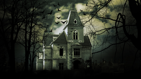 Photo for Haunted house with dark scary horror atmosphere - Royalty Free Image