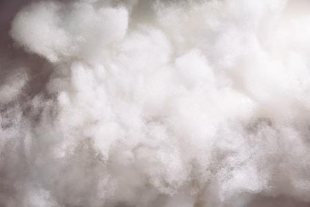 Foto de Cotton wools making it as clouds for background wallpaper - Imagen libre de derechos