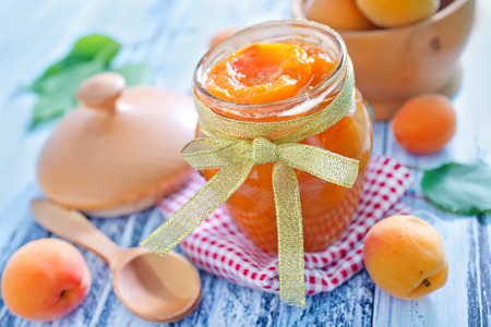 Photo for apricot jam - Royalty Free Image