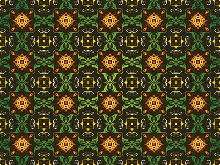 abstract vector symmetry ornamental floral texture background