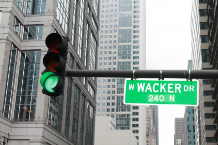 Green light on Chicago W Wac