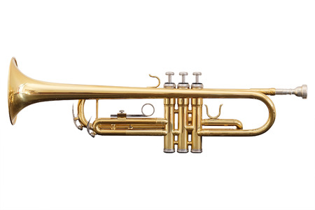 Photo for classical music wind instrument trumpet - Royalty Free Image