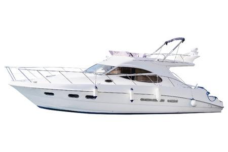 Foto de The image of an passenger motor boat - Imagen libre de derechos