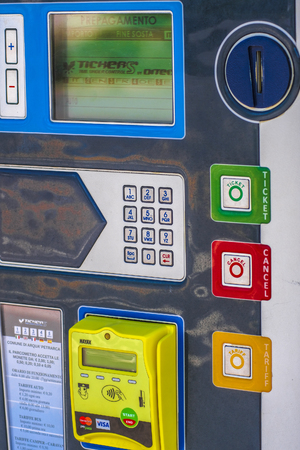 Photo for Parking machine close up - Royalty Free Image