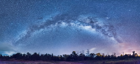 Photo for milky way across sky - Royalty Free Image