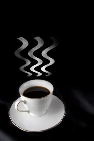 coffee abstract concept