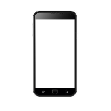 Illustration pour Realistic smart phone vector - image libre de droit