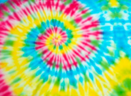 Photo pour Blur fabric Tie dye bright colors texture background. - image libre de droit