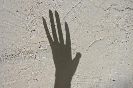 Foto de Shadows on the wall - Imagen libre de derechos
